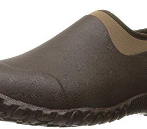 Muckster ll Men's Rubber Garden Shoes,Bark/Otter