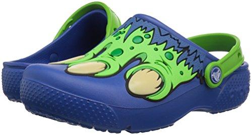 crocs Unisex Kids Fun Lab Creature Clog K, Blue Jean