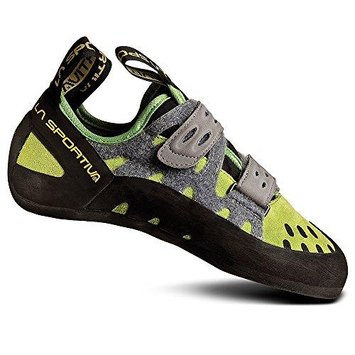 La Sportiva Women's Tarantula Climbing Shoes Green 39.5, Unisex Adult, Green/Grey, 43 EU