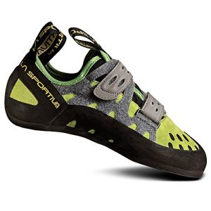 La Sportiva Women's Tarantula Climbing Shoes Green 39.5, Unisex Adult, Green/Grey, 43 EU