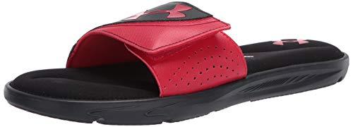 Under Armour Men's Ignite VI Slide Sandal, Black
