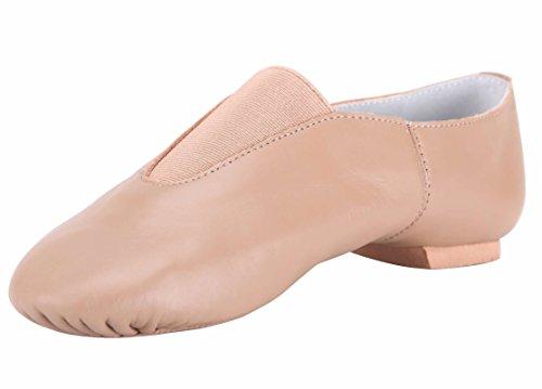 Linodes Leather Jazz Shoe Slip On (Toddler/Little Kid/Big Kid)
