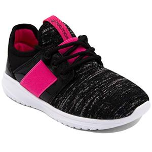 Nautica Missy Youth Girls Athletic Fashion Cross Trainer Lace Up Running Sneakers