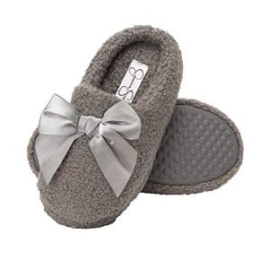 Jessica Simpson Girls Slip-On Clogs - Fuzzy Comfy Warm Memory Foam