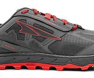 ALTRA Men's Lone Peak 4.0 Trail Running Shoe, Gray/Orange