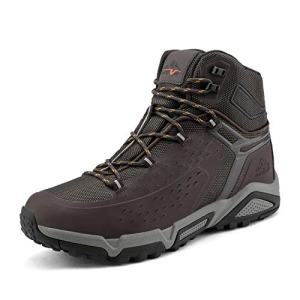 NORTIV 8 Men's Waterproof Hiking Boots Outdoor Mid Trekking Backpacking