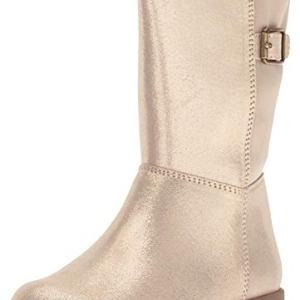 Stride Rite Girls Willow Lightweight Riding Boot Fashion, Gold