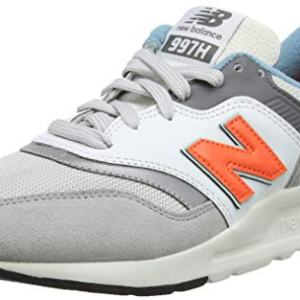 New Balance Men's 997H V1 Sneaker, RAIN Cloud/Dark Mango