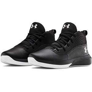 Under Armour Kids' Pre School Lockdown 4 Wide Basketball Shoe