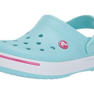 Crocs Kids Crocband II (Toddler/Little Kid) Ice Blue/Candy Pink