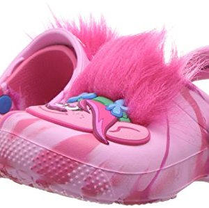 Crocs unisex Kids' Fun Lab Trolls Clog , party pink