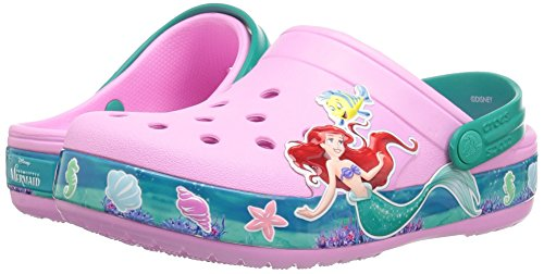 Crocs Unisex-Kids CB Princess Ariel Clog K, carnation