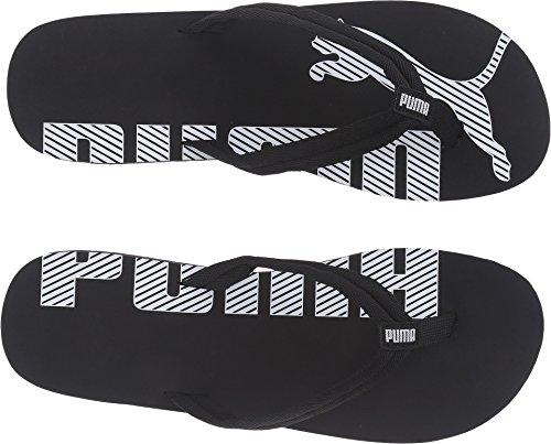PUMA Men's Epic flip v2 Athletic Sandal, Black/White