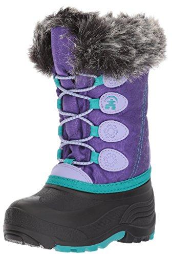Kamik Girls' Snowgypsy, Purple, 5 Medium US Big Kid
