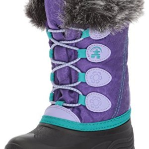 Kamik Girls' Snowgypsy, Purple, 5 Medium US Big Kid