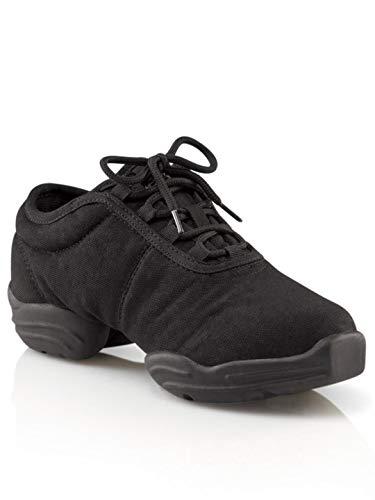 Capezio Little Kid/Big Kid Canvas Dance Sneaker,Black