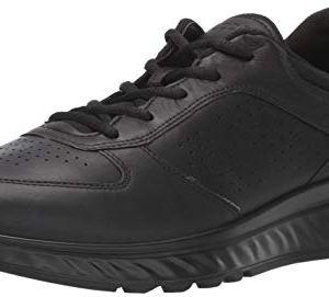 ECCO mens Exostride Sneaker, Black