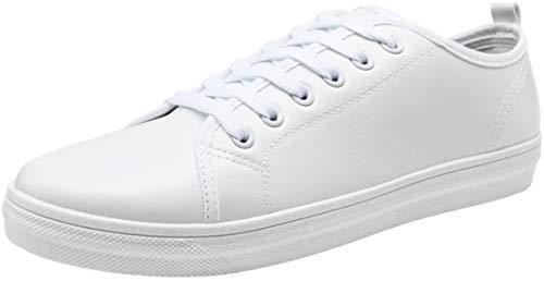 JOUSEN Men's Casual Shoes White Sneakers for Men
