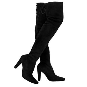 TYFLOVE Women Over The Knee Boots Fashion Suede