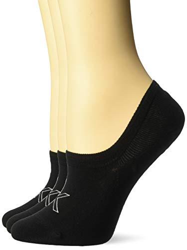 Calvin Klein Women's 3 Pack Cotton Logo Sneaker Liner Socks
