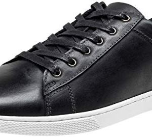 JOUSEN Men's Leather Sneakers Fashion Dress Sneaker