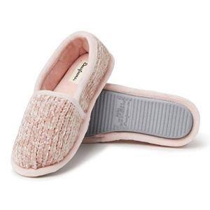 Dusty Pink Chenille A-Line Slipper Women's