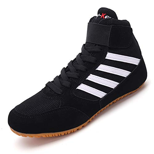 Funamee Men's Boxing Wrestling Shoes