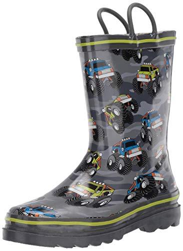 Western Chief Boy's Waterproof Printed Rain Boot