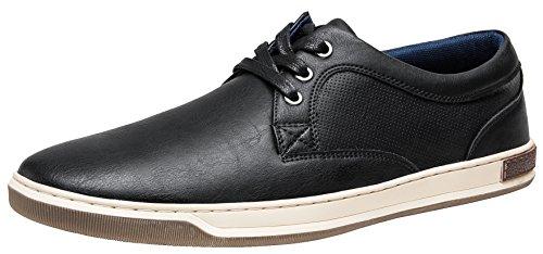 JOUSEN Men's Fashion Sneakers 3 Eyelets Casual Shoes