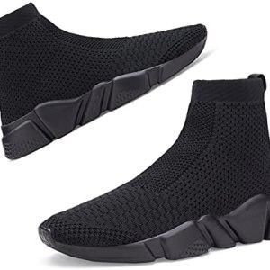 Santiro Women's Slip On Shoes Lightweight High Top Walking Shoes