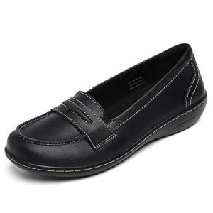 Women's Penny Genuine Leather Loafers Flats Shoes