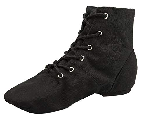 Flat Jazz Boots for Practice Men and Women