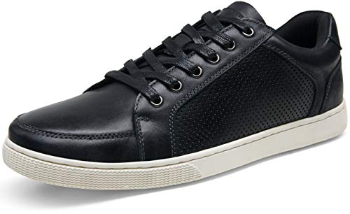 JOUSEN Men's Sneakers Leather Casual Shoes