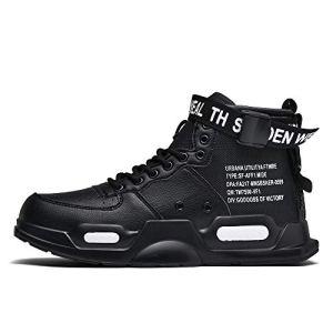 XIDISO Fashion Mens Women Sneakers High Top Walking Shoes