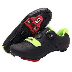 Men's Cycling Shoes, Compatible with Indoor