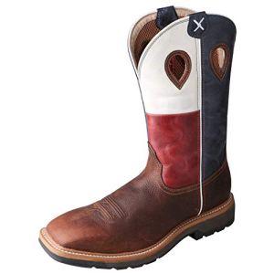 Twisted X Men's Steel Toe Lite Western Work Boot