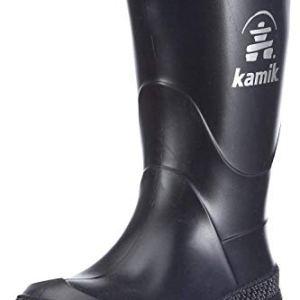 Kamik Stomp Rain Boot,Navy/Black