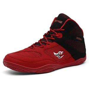 Funamee Men's Boxing Wrestling Shoes, Non-Slip