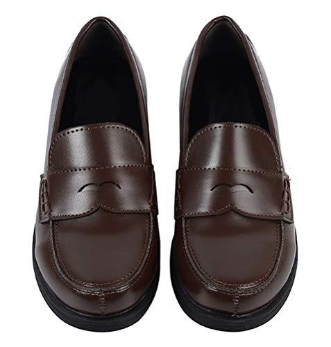 Women JK Uniform Dress Shoes Slip on Oxford Shoes