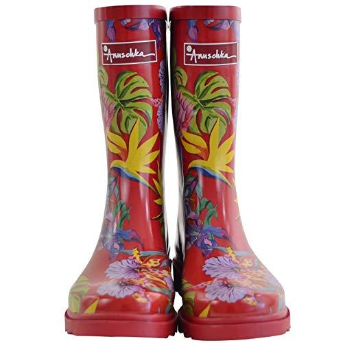 Anuschka Women's Mid-Calf Rain Boot