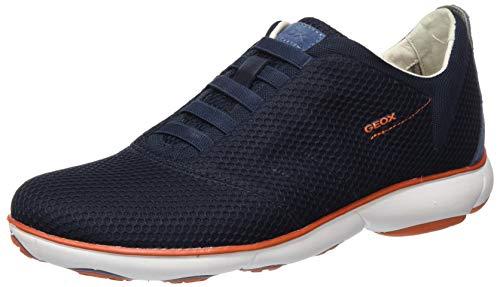 Geox Men's Low-Top Sneakers, Blue Navy