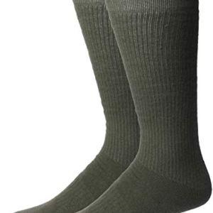 Jefferies Socks Men's Women's Military Boot 2 Pack