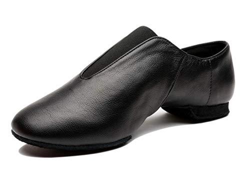 Mrsdressshop Unisex Leather Upper Jazz Ballets Shoe