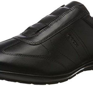 Geox Men Symbol 21 Black Sneaker Shoes