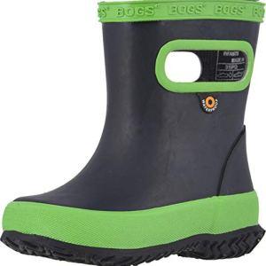 Bogs Kids Skipper Solid (Toddler/Little Kid) Navy/Green