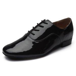 HIPPOSEUS Lace-up Latin Dance Shoes for Men