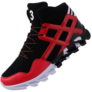 JOOMRA Mens Ankle Shoes for Walking Basketball Street