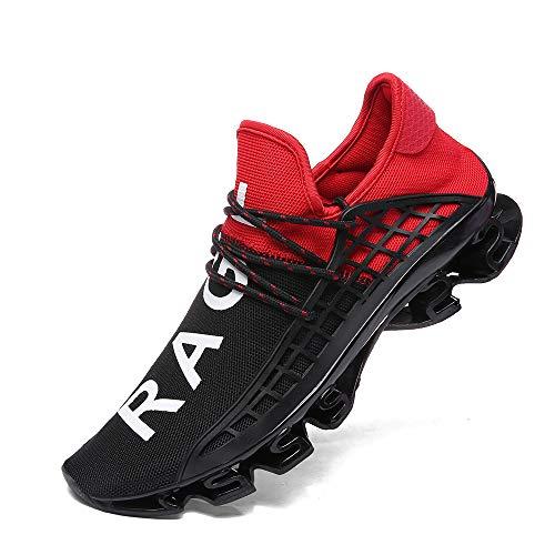 XIDISO Mens Running Shoes Womens Slip On Blade