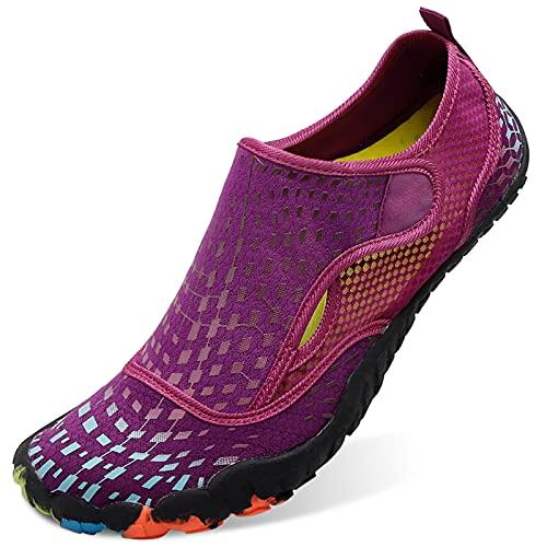 L-RUN Women Water Shoes Barefoot Beach