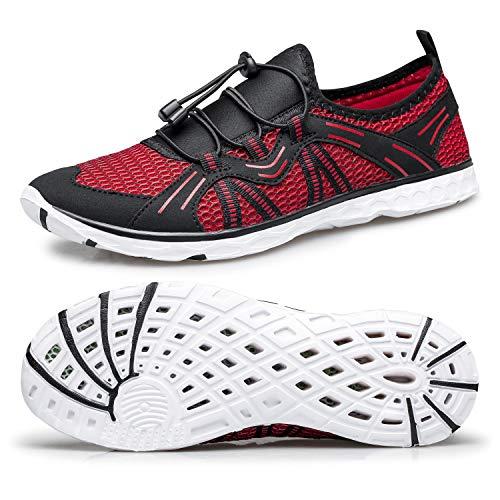 Mens Water Shoes Quick Drying Aqua Swim Shoes